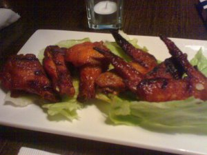 Chicken Wings at The Diner, Taipei