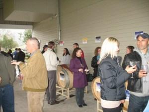 Barrel Sampling Party 2008