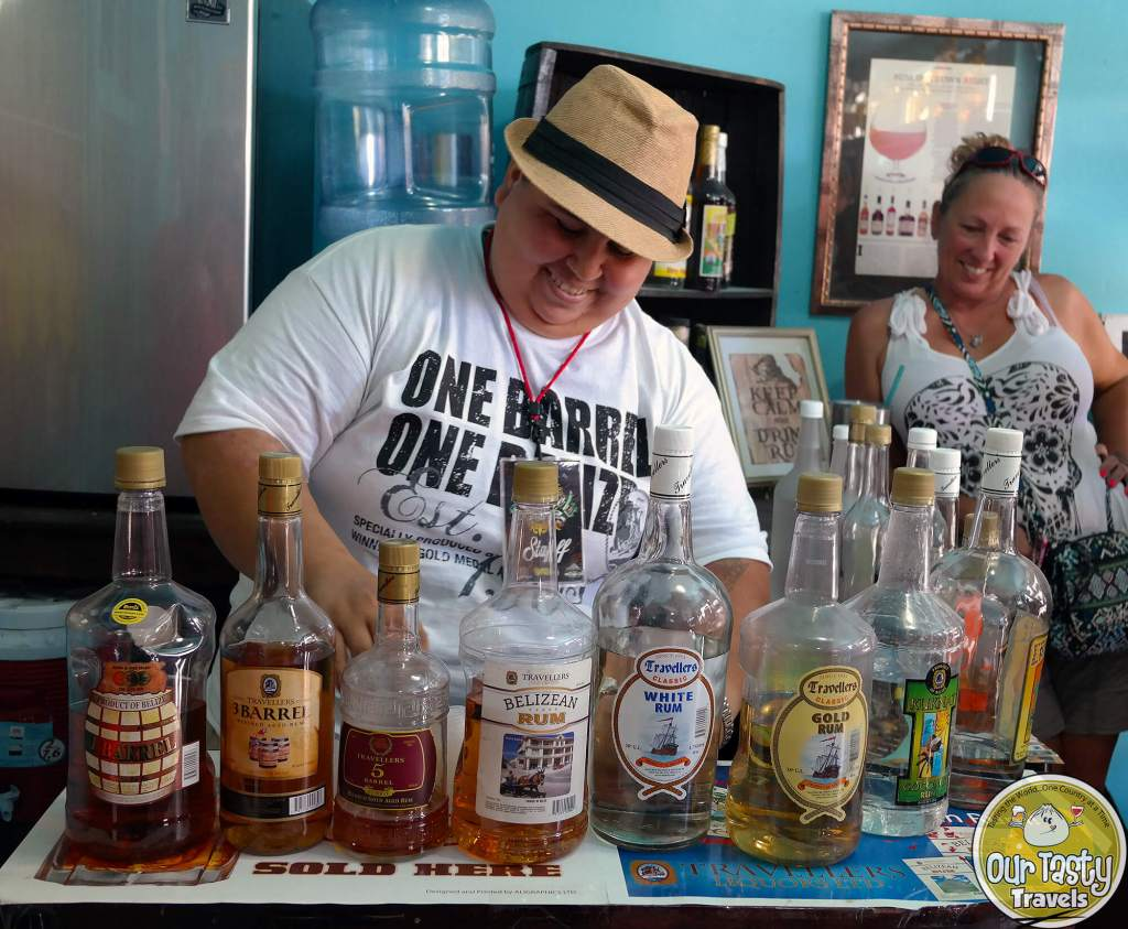 Travellers Rum in Belize - ourtastytravels.com