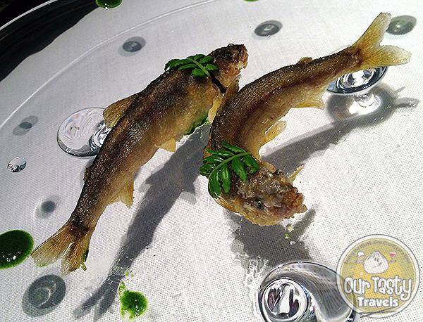 Chiayu sweet fish Narisawa