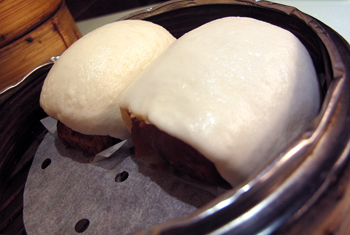 Roast Pork Belly and Taro Bun http://ourtastytravels.com/blog/dimdimsum-dim-sum-hong-kong/ #dimsum #hongkong #ourtastytravels