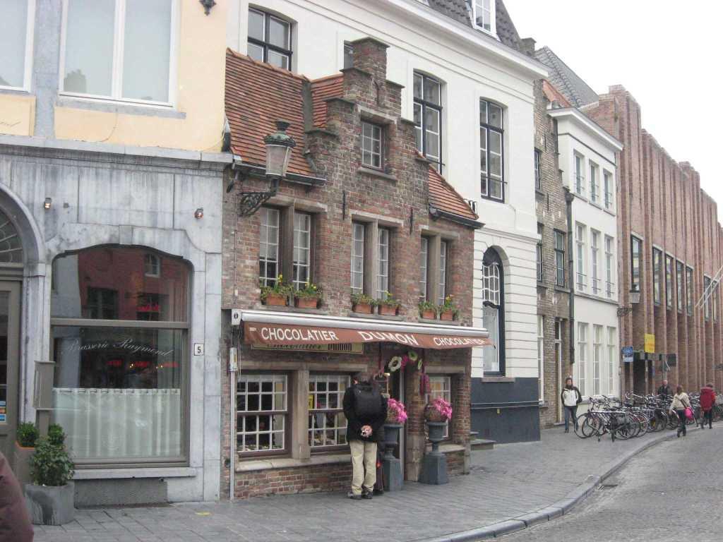 Chocolatier Dumon, Bruges, Belgium