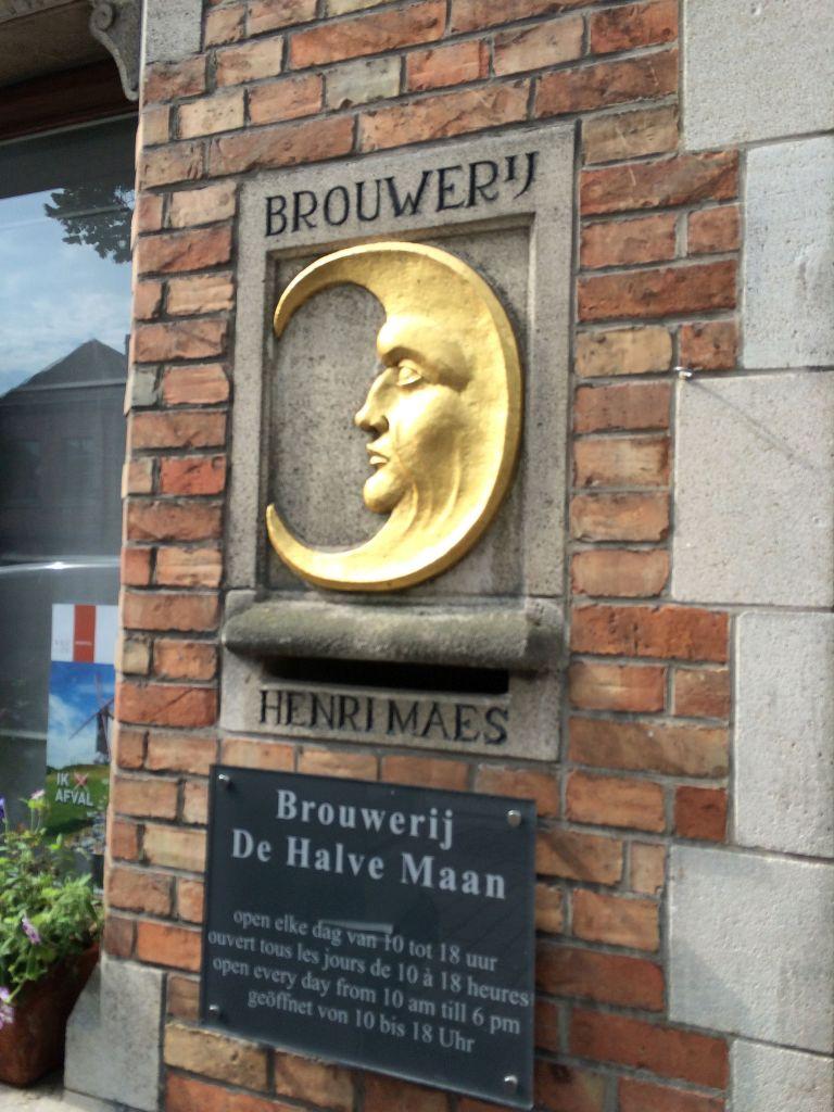 Brouwerij De Halve Maan in Brugge, Belgium