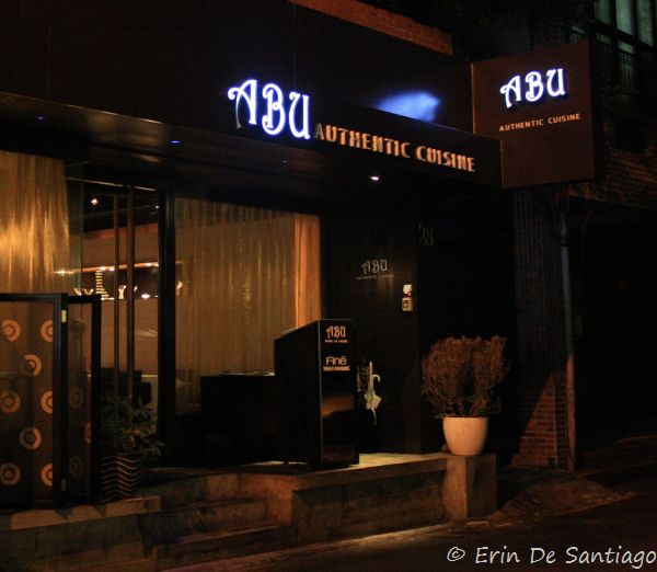 My Birthday Dinner At Abu Authentic Cuisine In Taipei, Taiwan