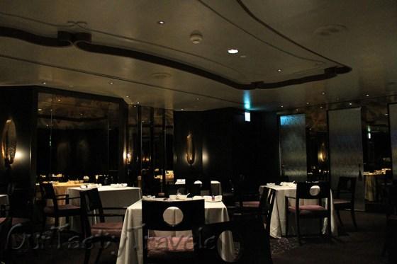 Restaurant Interior - empty at 9pm