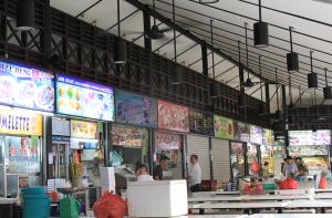 Singapore Newton Hawker Food Center