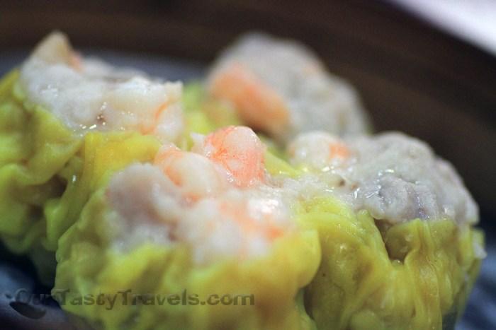 Steamed Pork Dumplings with Shrimp