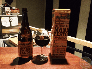 The Chocolate Manifesto – Triple Chocolate Milk Stout – #OTTBeerDiary Day 328