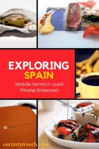 Exploring Spain's Award-Winning and Michelin-Starred Restaurants - ourtastytravels.com