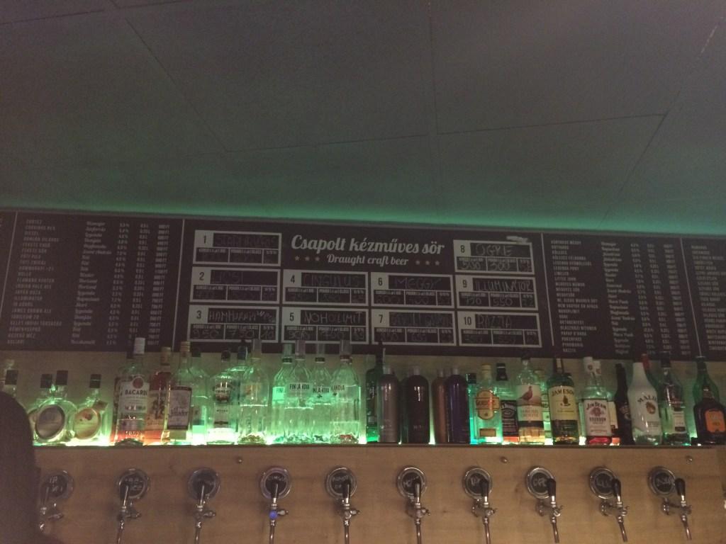 Legfelsőbb Beeróság in Budapest, Hungary #craftbeer