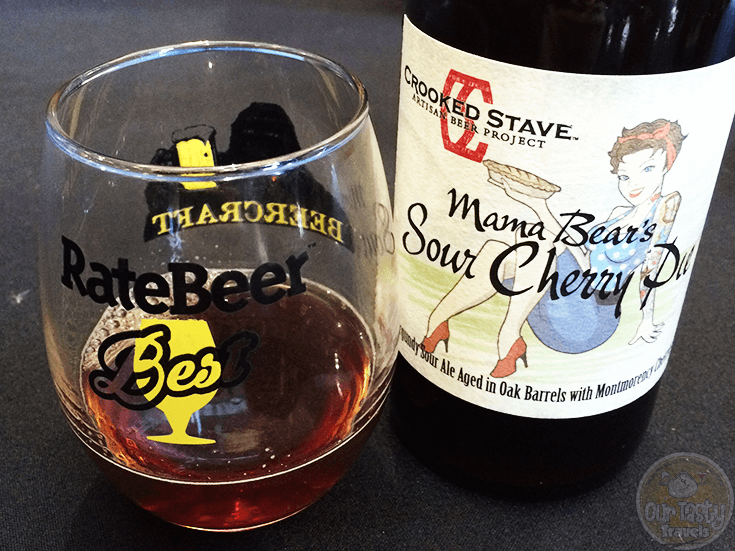 Mama Bear's Sour Cherry Pie by Crooked Stave Artisan Beer Project