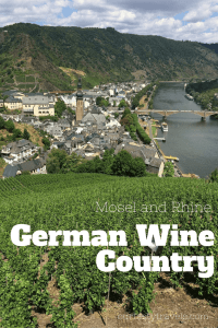 Learn about visiting German wine and how to visit the popular Rhine and Mosel River regions. Ourtastytravels.com