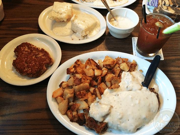 Breakfast at Willy Bird's in Santa Rosa, California