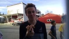 Hudi and his dougnuts
