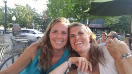 Dinner with my college roommate. Still great friends after all these years! And now we live near each other :) yahoo!!!!