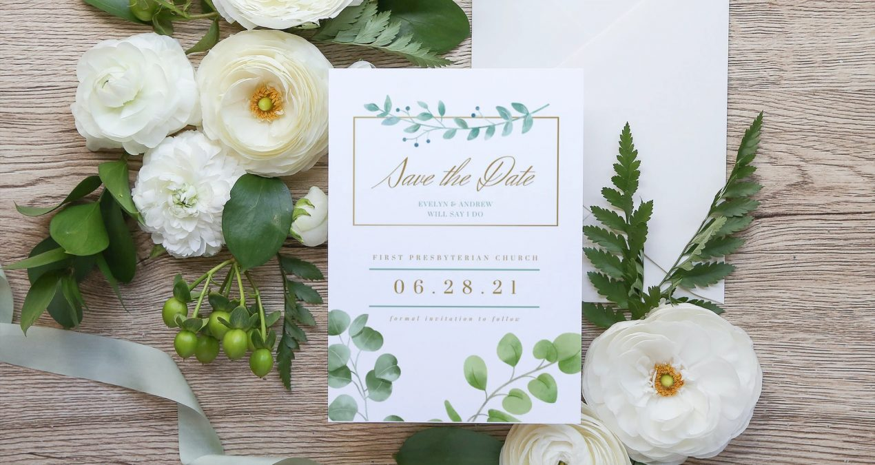 Save The Date Customizable Template