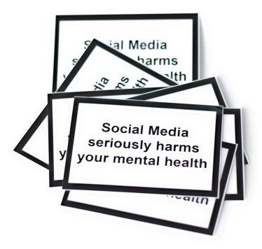 social media phone sticker