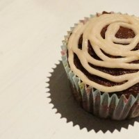 Lacey Black Forest Cake Cupcakes Soaked in Cherry Ice Wine