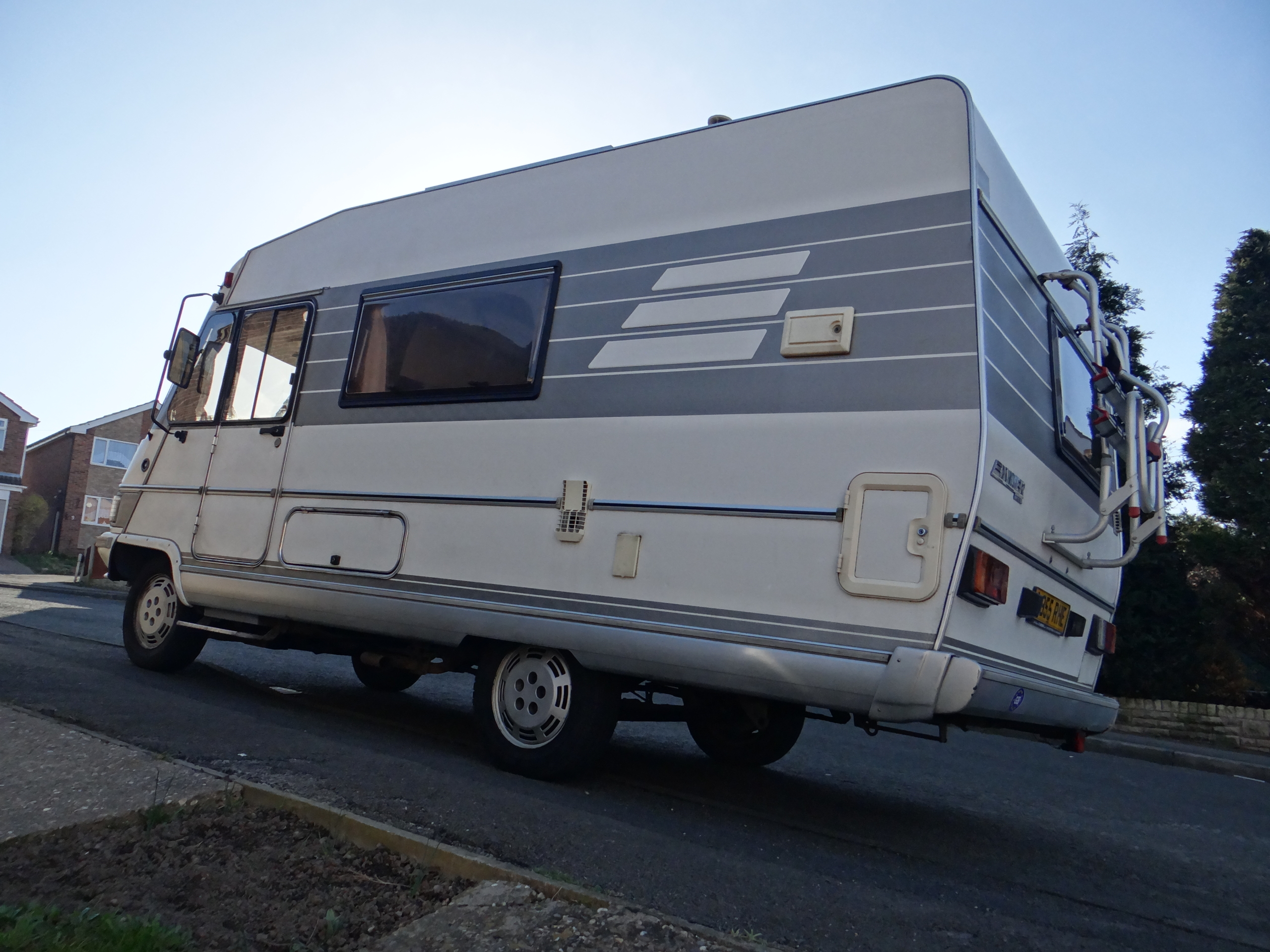 Hymer B544 Motorhome For Sale, Seeks New Loving Home - Our Tour