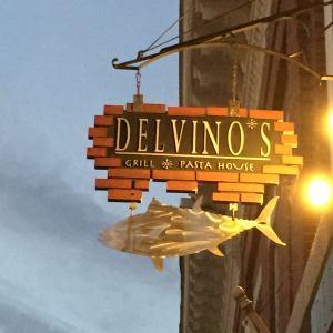 Delvinos Restaurant Belfast Maine Logo