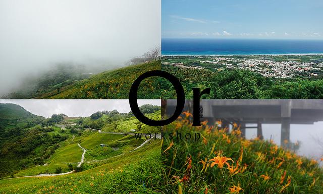 [台東|金針花景點] 眺望太平洋,午後欣賞濃霧中的金針花,太麻里金針山忘憂谷
