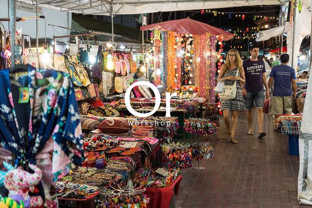 [泰國清邁|景點] 一到晚上就人聲鼎沸,來清邁旅遊一定不能錯過的特色夜市 – Anusarn market / 阿奴善夜市