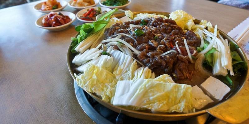 [食記]天母 知名在地老店 銅盤烤肉 超彭湃海鮮煎餅 石鍋拌飯 - 高麗味韓國烤肉