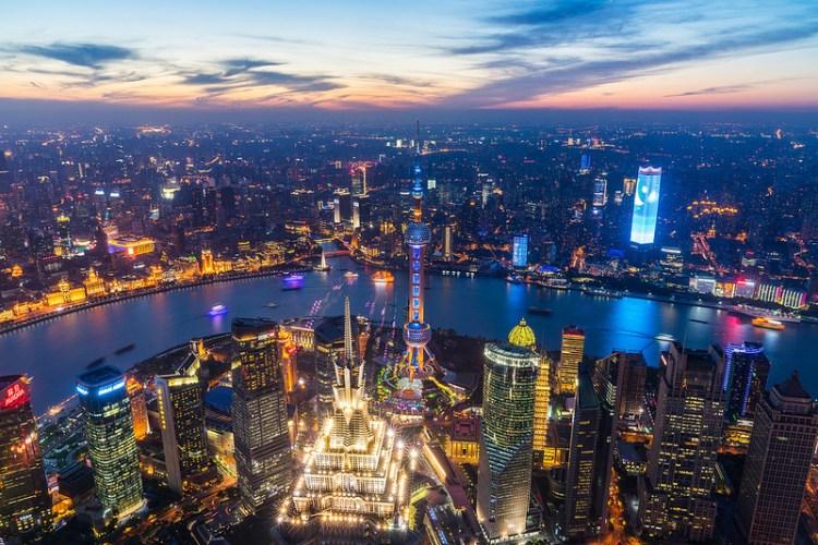 [中國上海|夜景] 來到上海,一定要上來開罐器拍夜景,眺望整個上海灘跟東方明珠 – 上海環球金融中心
