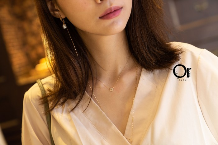 日系輕珠寶 agete:設計細膩且古典,對喜愛低調又擁有典雅氣息的女性來說,是無法抵抗的魅力