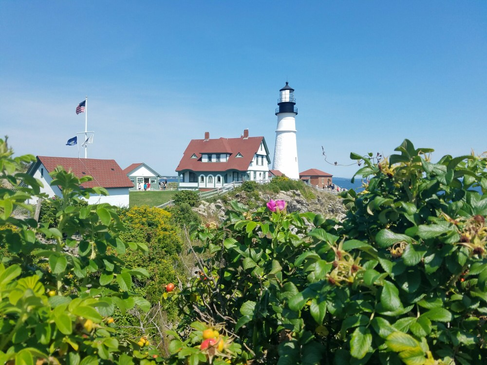 Portland Head Lighthouse, museum and gift shop