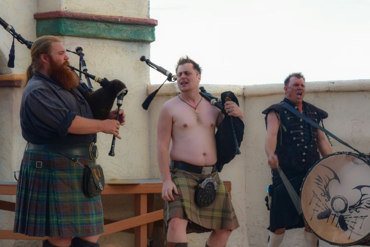 Tartanic gets wild at their Men Without Pants show