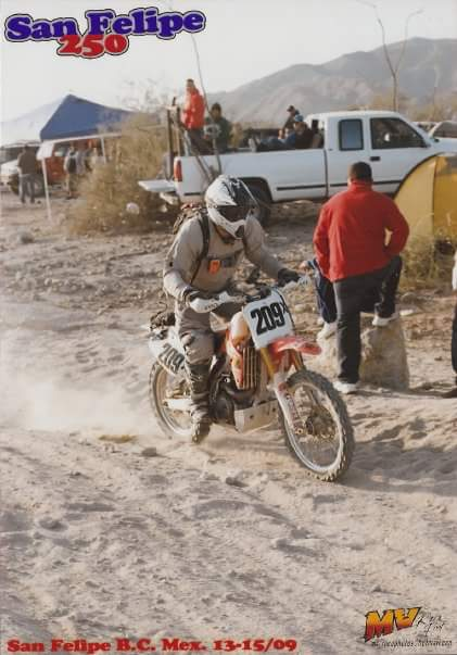 Ryan racing the San Felipe 250 in Baja 2009