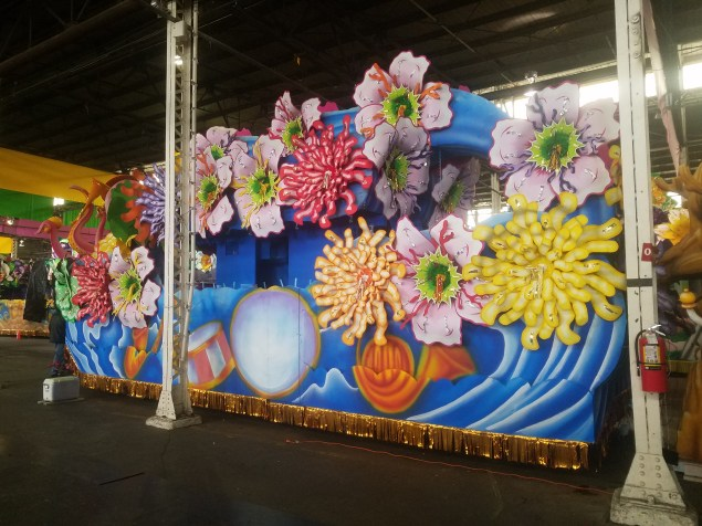 One of the Massive Floats