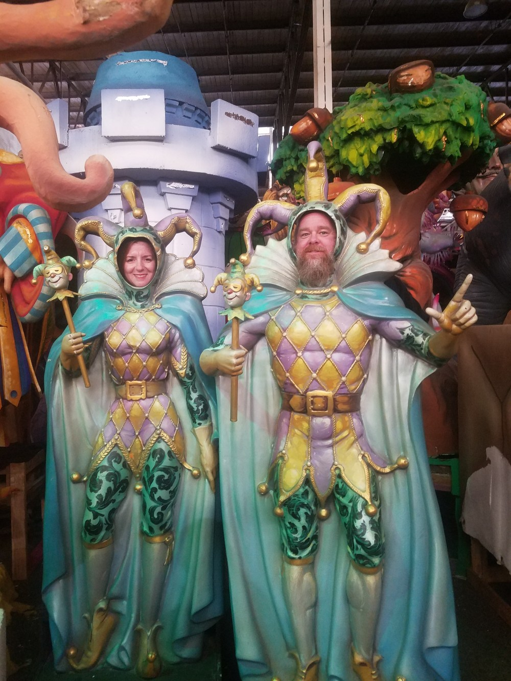 Ourtripylife at Mardi Gras World New Orleans