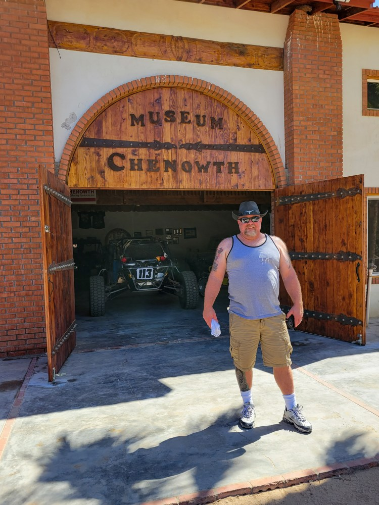 Entrance to the Chenowth Museum