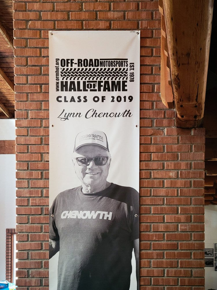 Lynn Chenowth 2019 Off-Road Motorsports Hall of Fame Inductee