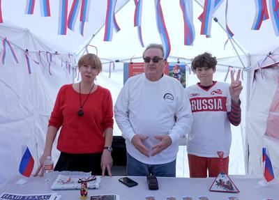 Балалайка и матрёшка: куда уж Русскому культурному центру без главных народных атрибутов? Мы впервые участвовали в Турецком фестивале и делали это с удовольствием!