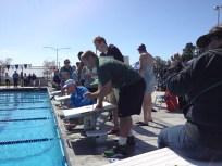 UCLA's James and Oregon's Doug time races