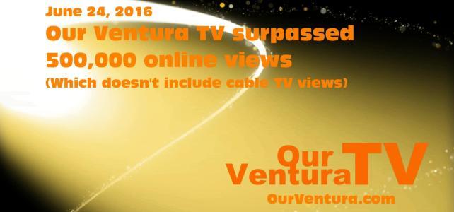 Our Ventura TV 500K Milestone (8sec)