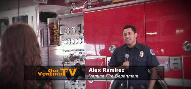 Firefighter Alex Ramirez