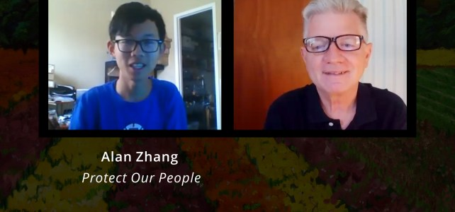Alan Zhang, Protect Our People