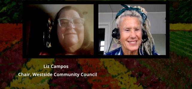 Liz Campos, Ventura Westside Community Council