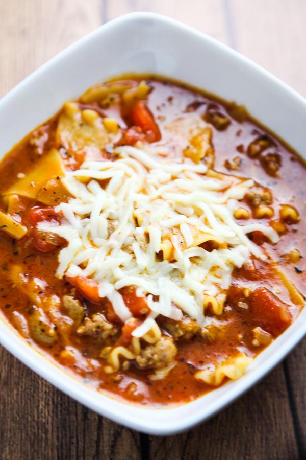 Lasagna Soup-2