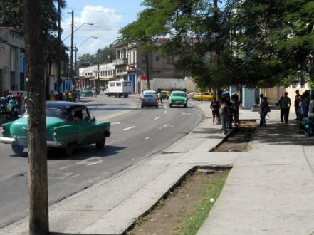 Typical vehicles in Havana.
