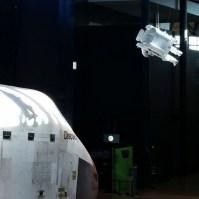 Spacewalker for a sense of scale