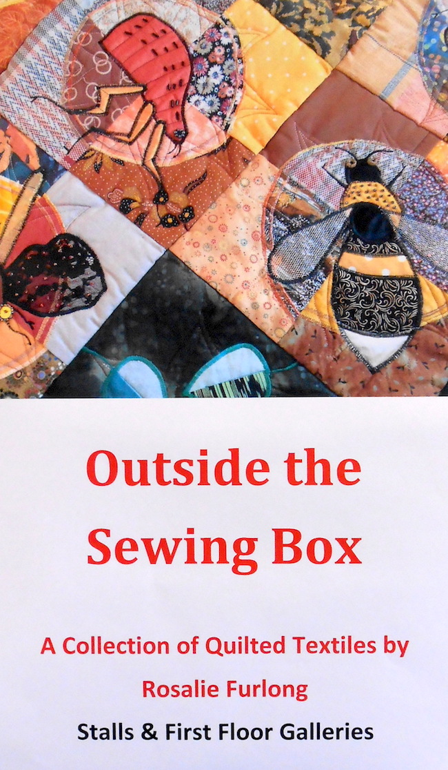 The quilter and exhibition name. She was very talented and imaginative.