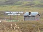 Druimuachdar Pass at 1484 ft.