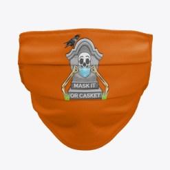 Mask It or Casket Face Mask Trevor Dow