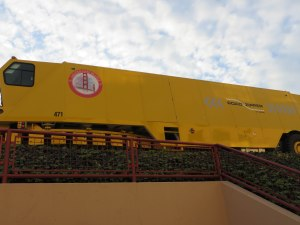 Machine to install movable barriers