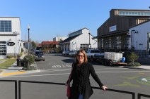 Sebastapol - blocks of warehouse shops, restaurants, and a hotel